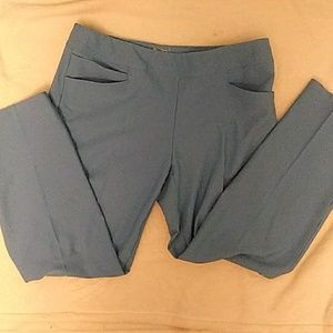Adidas Golf Pull-on Ankle Pant Sky Blue M NWT
